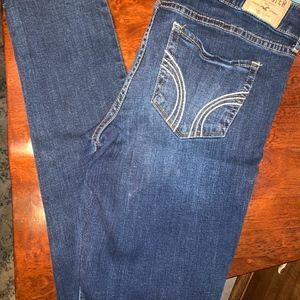 Hollister Blue Skinny Jeans